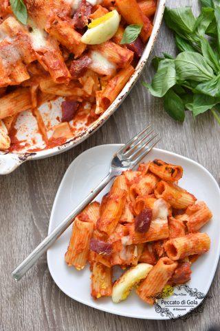 ricetta pasta al forno alla napoletana peccato di gola di giovanni 2