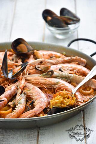 ricetta paella de marisco peccato di gola di giovanni 2