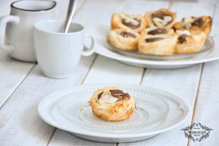 ricetta cestini di pasta kataifi con nutella peccato di gola di giovanni castaldi