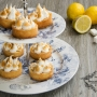 Crostatine al lemon curd e meringa