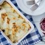 Crepes radicchio e gorgonzola