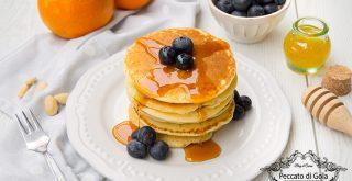 ricetta pancake senza glutine, peccato di gola di giovanni