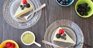 ricetta cheesecake al tè matcha, peccato di gola di giovanni