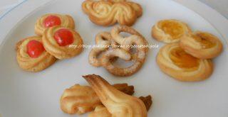 6) i biscotti al burro - danish butter cookies pronti