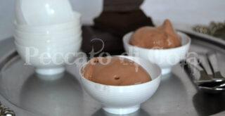 gelato al cioccolato, peccato di gola