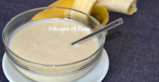 yogurt alla banana, peccato di gola