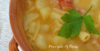 ricetta pasta e patate, peccato di gola