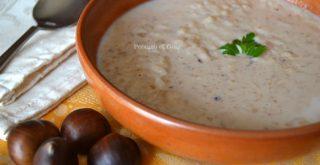 ricetta minestra di castagne riso e latte, peccato di gola