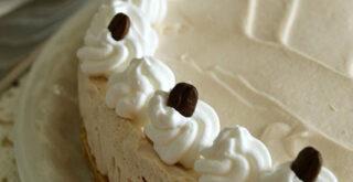 ricetta torta fredda allo yogurt al caffè, peccato di gola