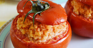 ricetta pomodori ripieni di riso, peccato di gola