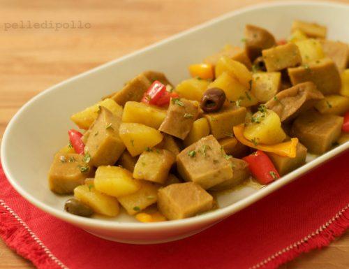 Spezzatino di seitan con patate