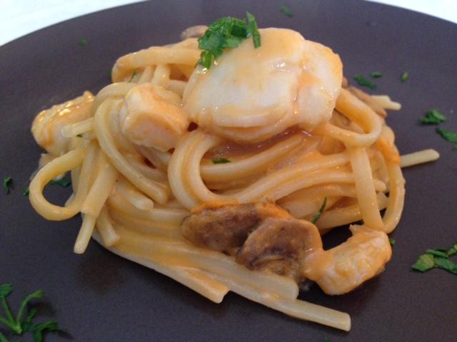 Ricette di pasta con le capesante