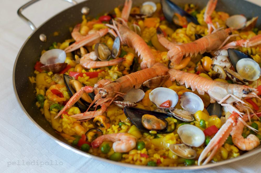 Paella Di Pesce Con Verdure Ricetta Semplice