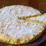 torta di ricotta e mandorle al limone