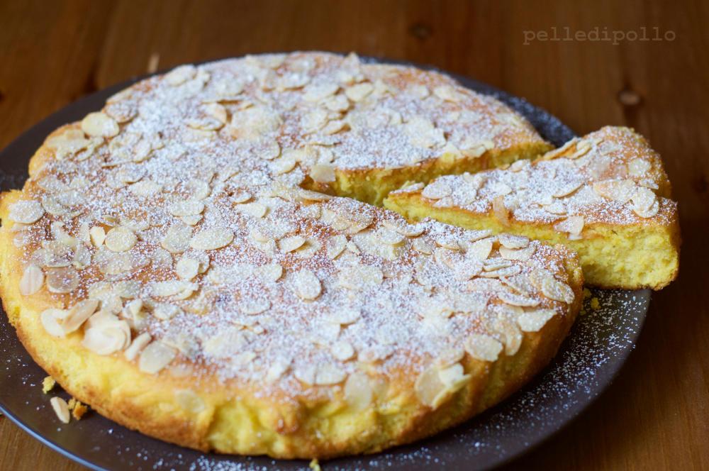 Torta Di Ricotta E Mandorle Al Limone Ricetta Facile E Golosa