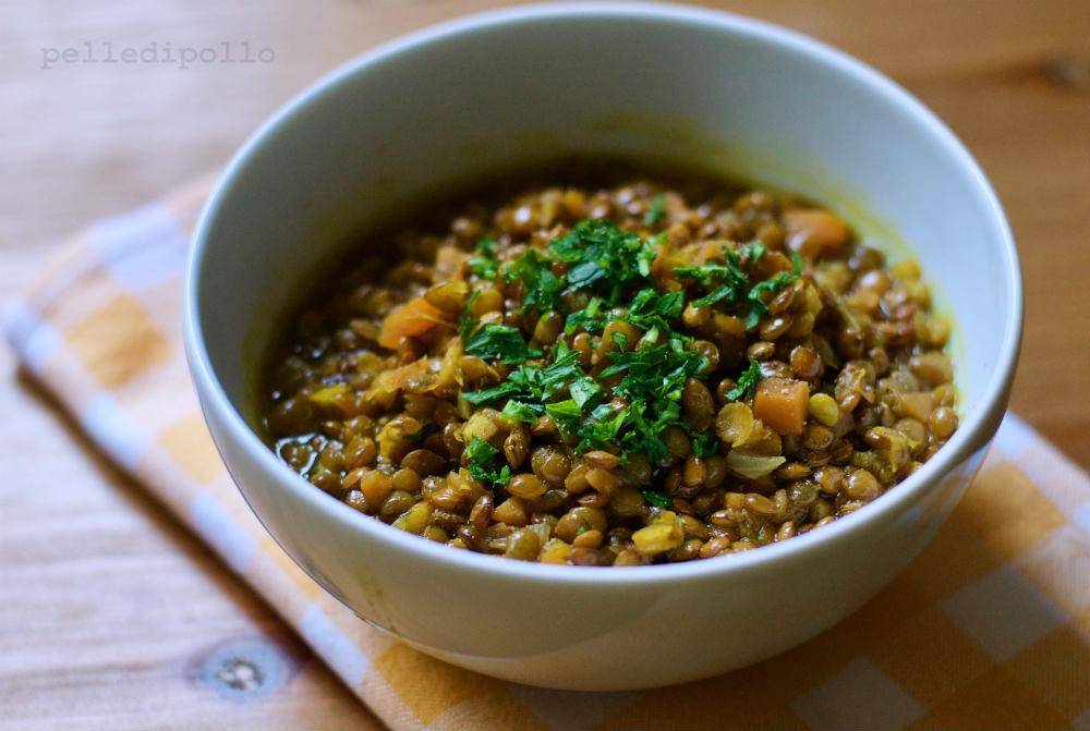 zuppa di lenticchie indiana dahl