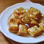 salatini di pasta sfoglia al salmone
