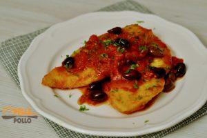 Palombo in padella con salsa al pomodoro