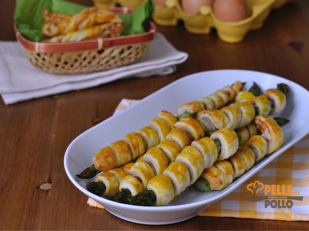 asparagi in pasta sfoglia
