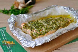 Filetto di salmone al cartoccio