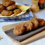 Polpette di carne e patate al forno