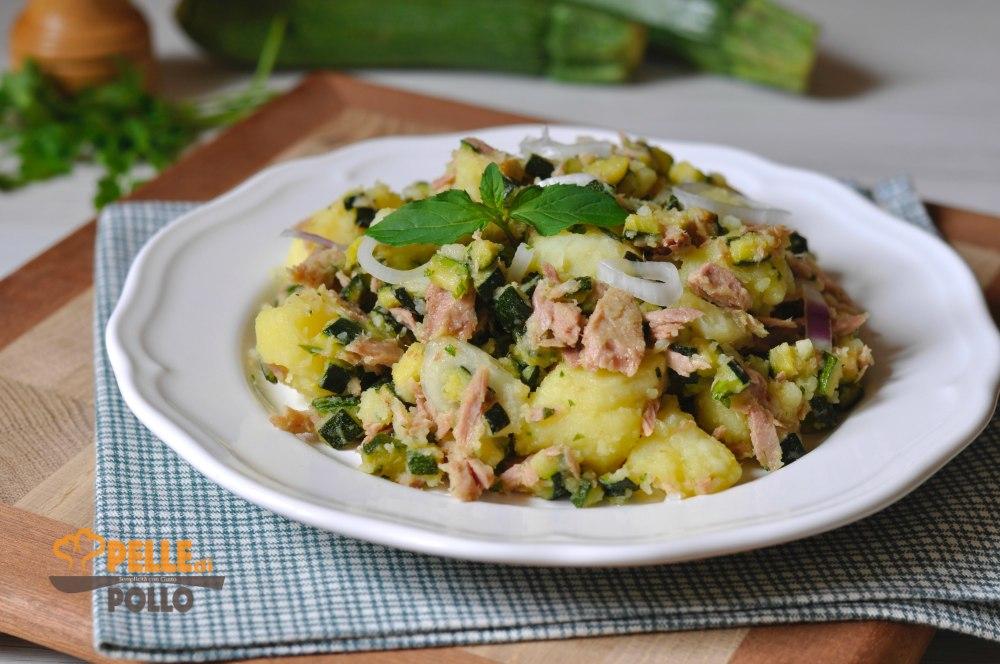 insalata di tonno patate zucchine