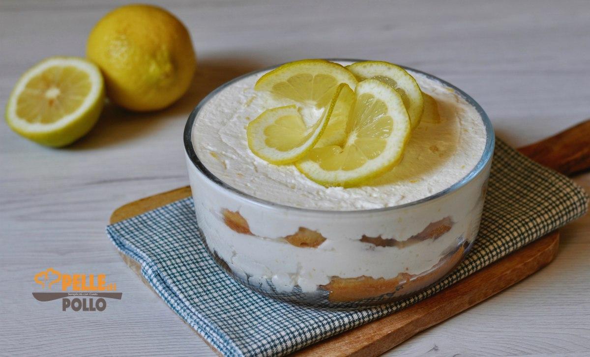 tiramisù al limone senza uova
