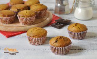 muffin con mascarpone caffè cioccolato