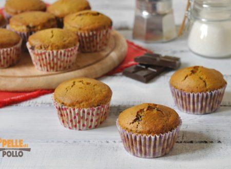 Muffin al mascarpone con cioccolato e caffè