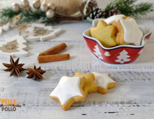 Biscotti di Natale al cardamomo e anice stellato