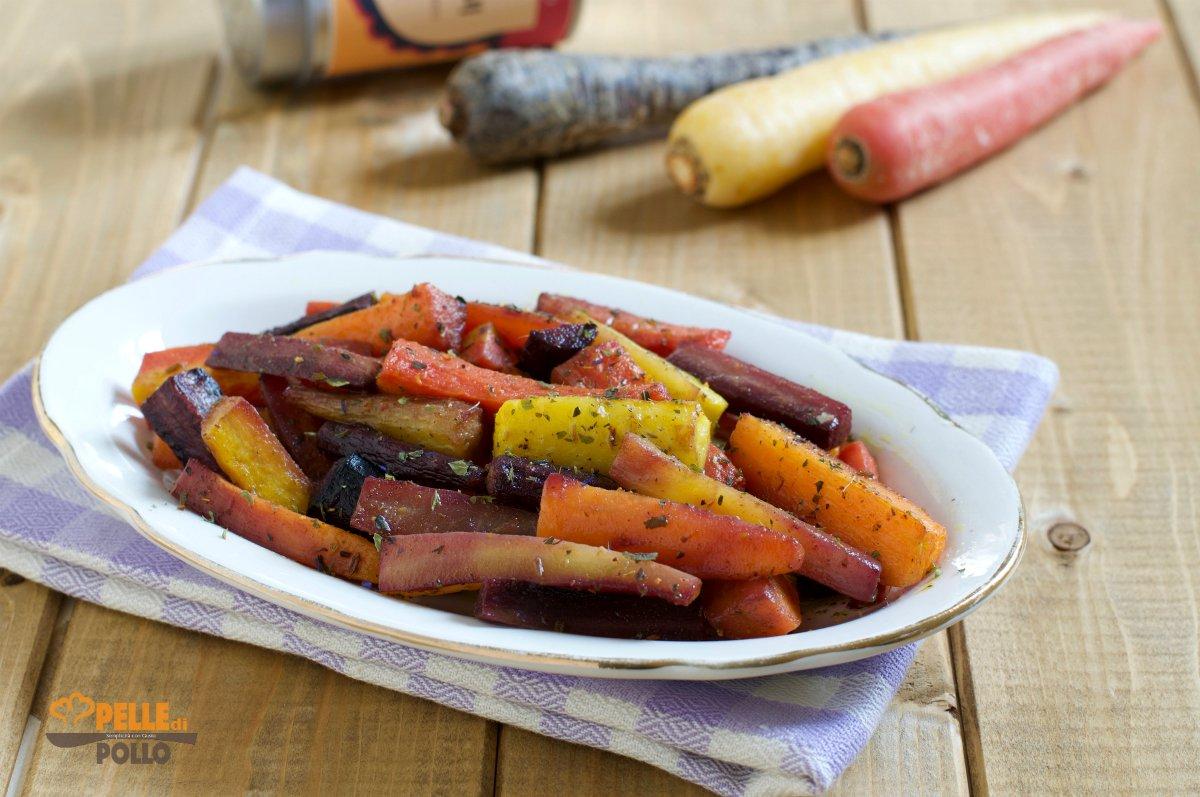 carote al curry al forno