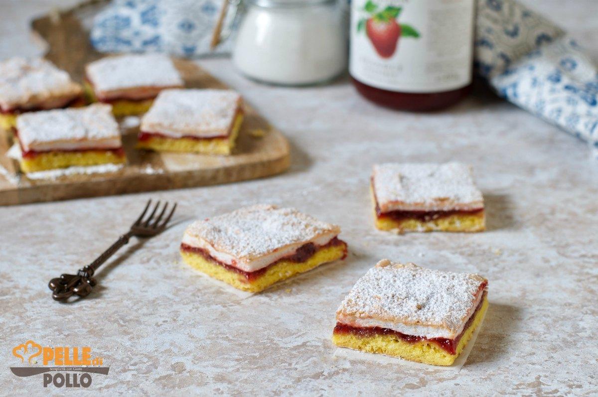 torta slava con marmellata meringa e frolla
