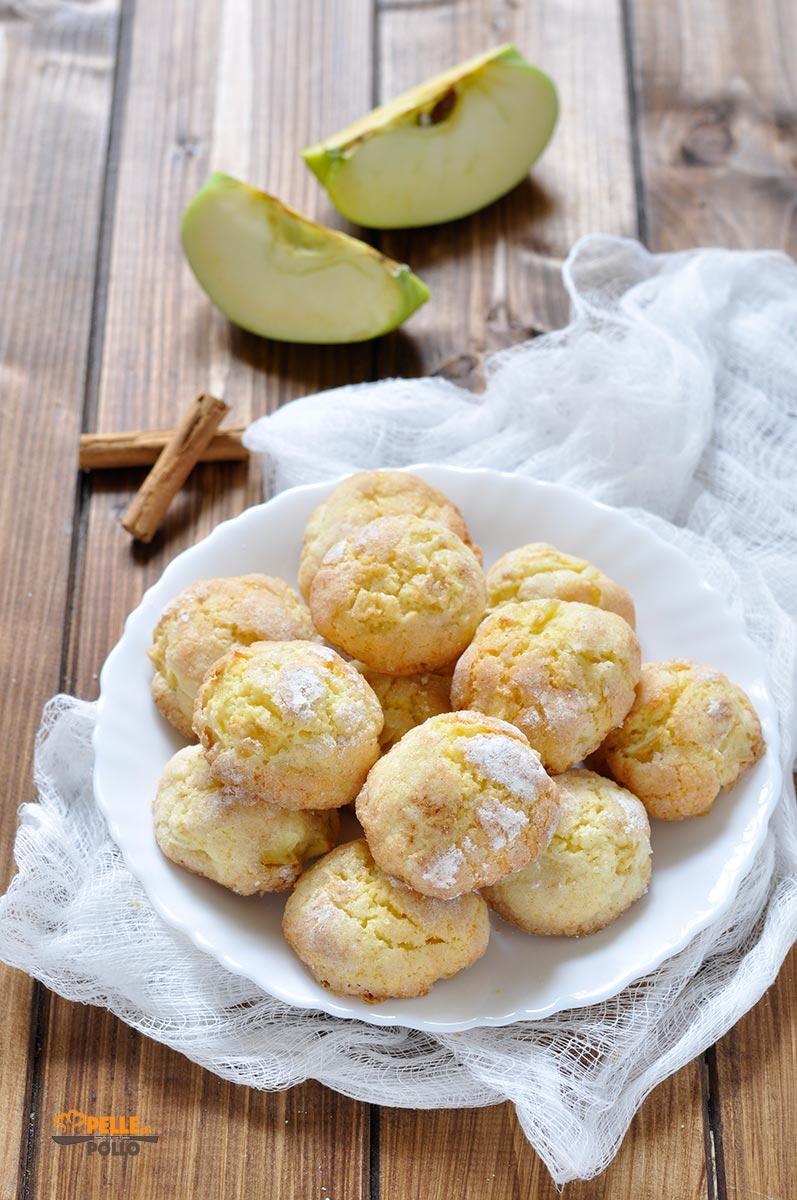 biscotti alle mele e cannella