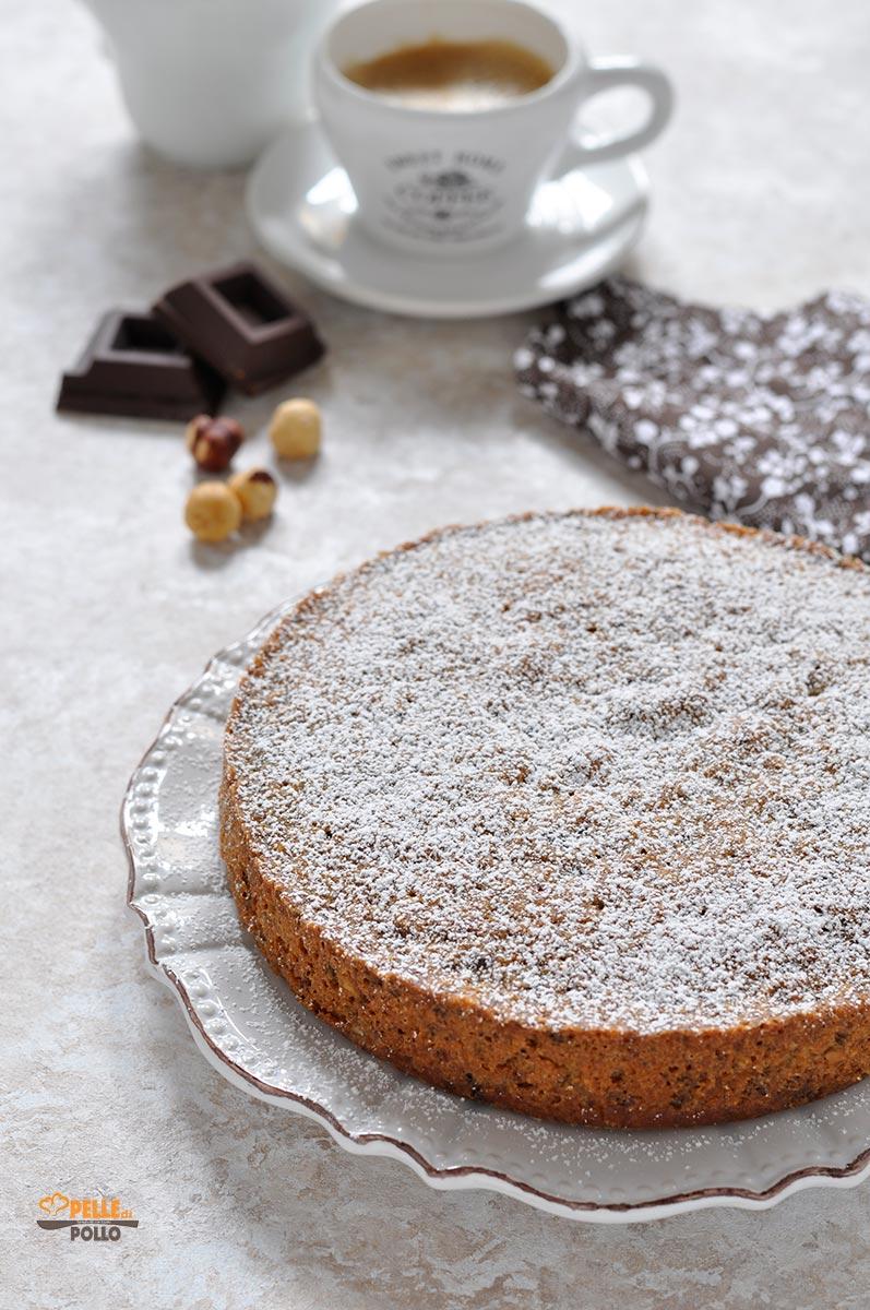 torta alle nocciole senza farina