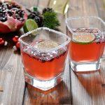 Cocktail di Natale al melograno