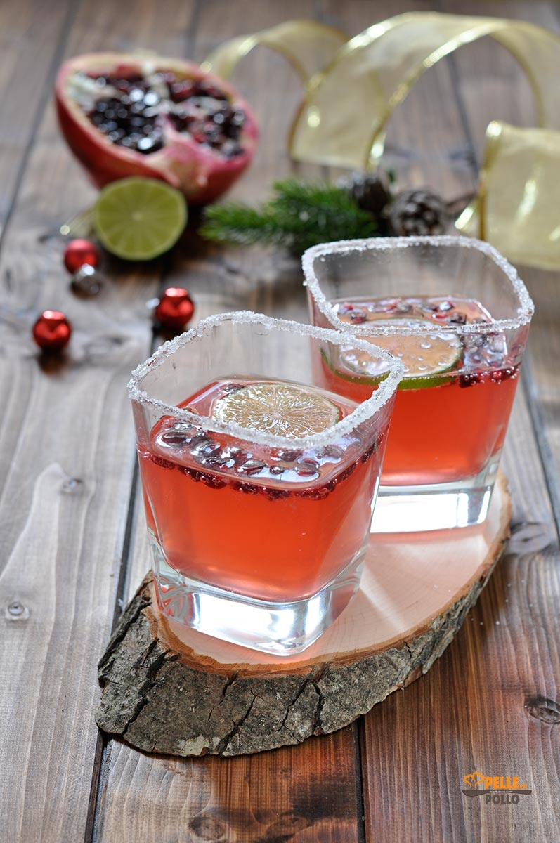 cocktail di natale al melograno