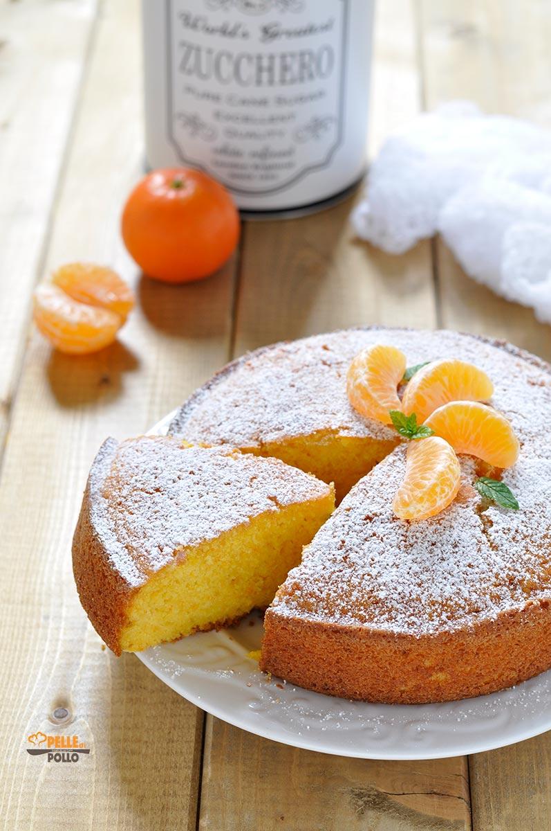 torta alle clementine semplice