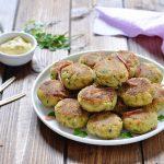 Polpette di zucchine con speck e ricotta