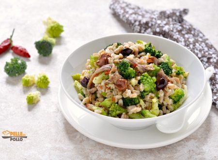 Insalata di broccoli e farro