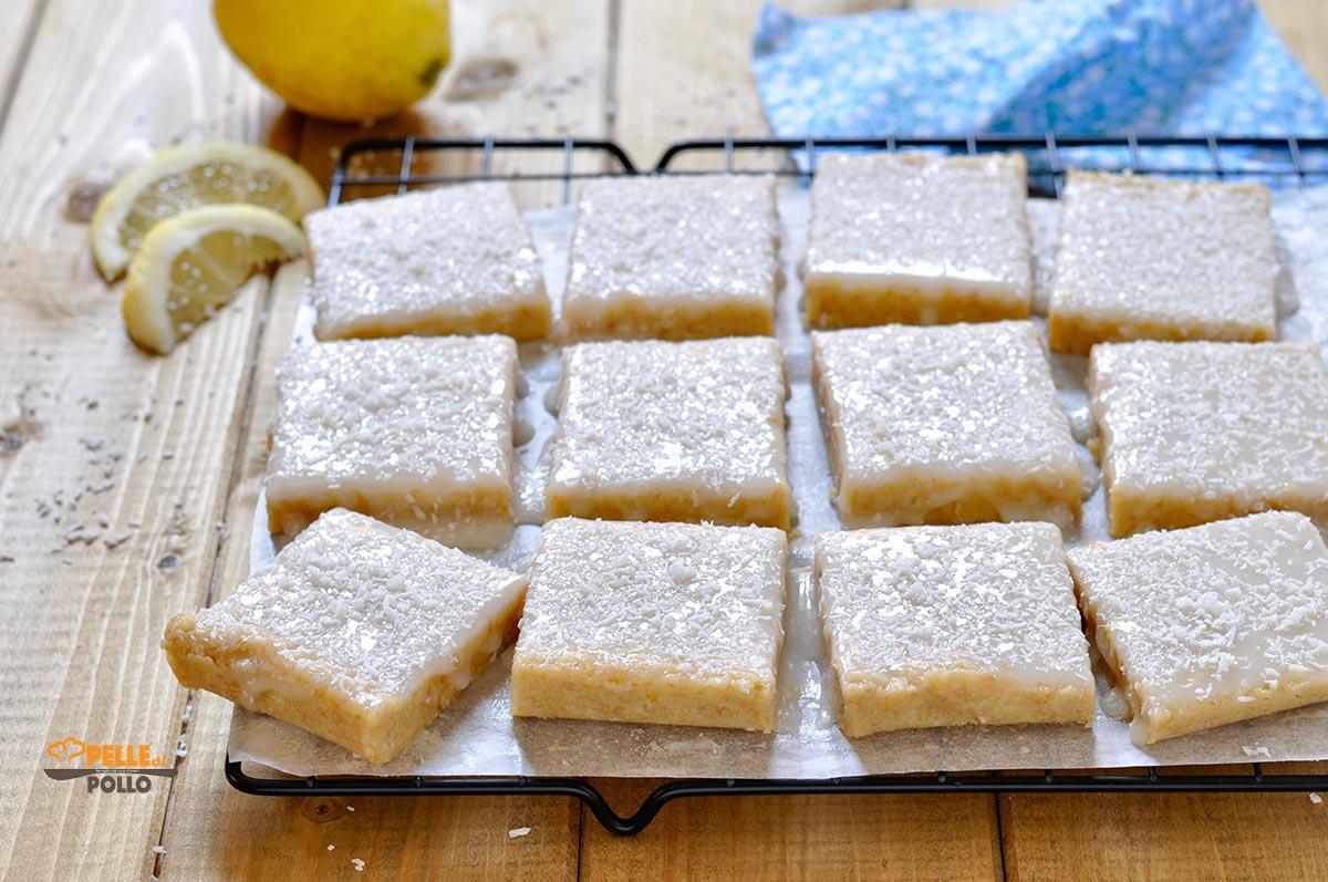 dolcetti al limone senza cottura