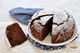 torta al cacao e yogurt
