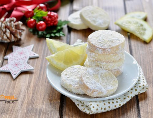 Lemon meltaways – Biscotti al limone