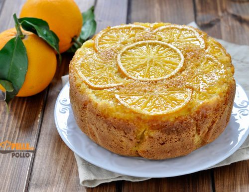 Torta alle arance rovesciata