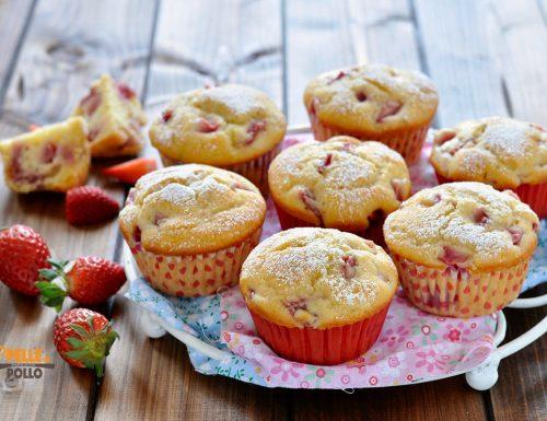 Muffin alle fragole soffici
