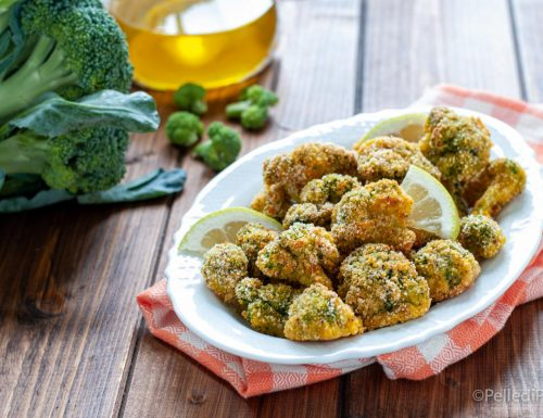 Broccoletti croccanti al forno