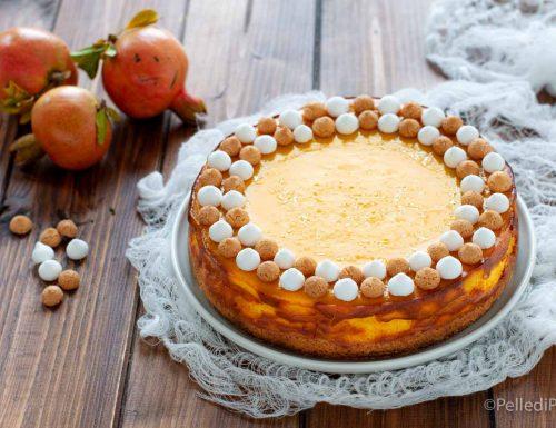 Cheesecake alla zucca cotta al forno