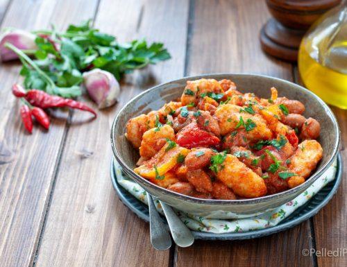 Chili di pollo con salsa piccante
