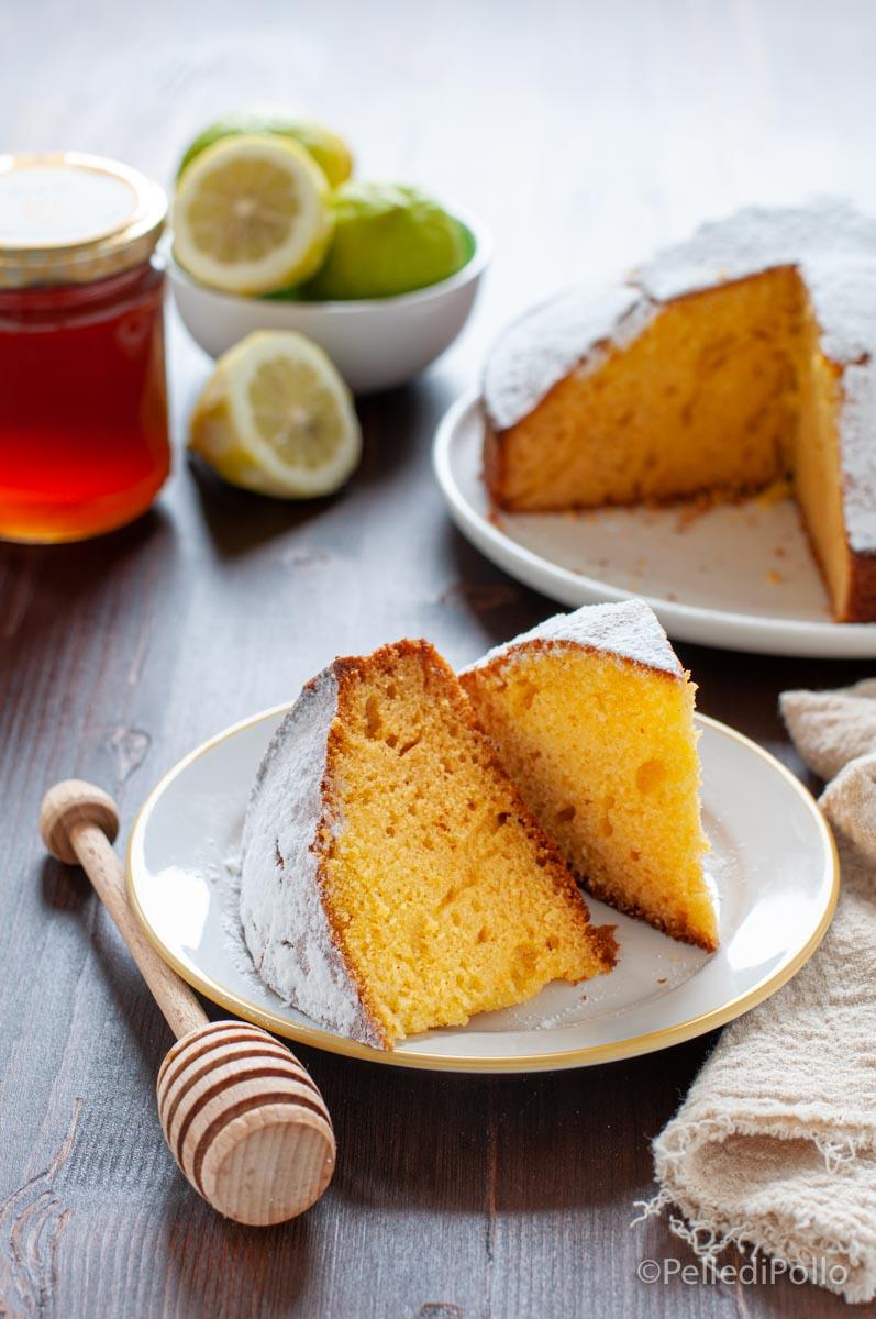 torta al miele e yogurt