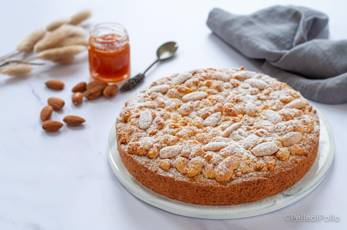 torta sbriciolata alla confettura
