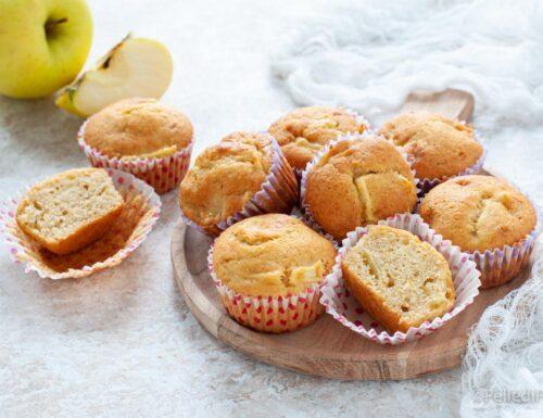 Muffin alla banana e mele